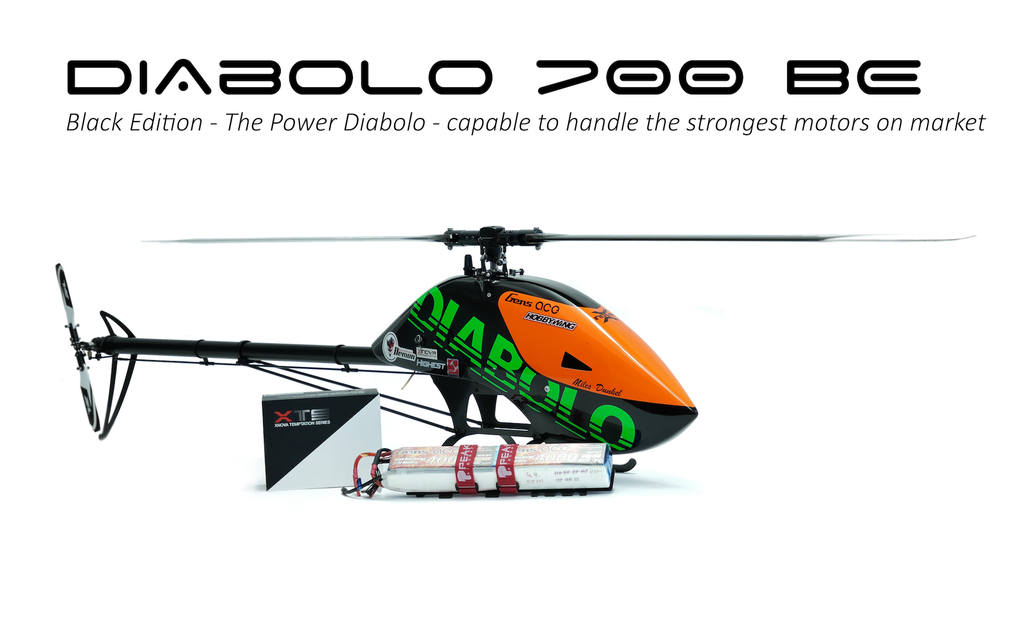 Diabolo 700 Black Edition